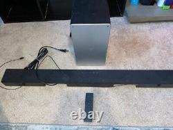 VIZIO SB3621N-E8 Sound Bar 36 2.1 Wireless Bluetooth System with Subwoofer Remote