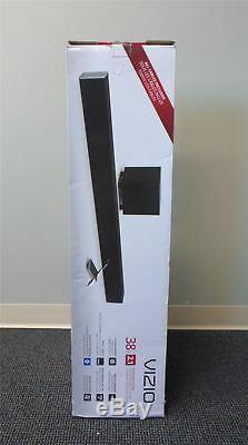 Vizio SB3821-C6 38 2.1 Channel Sound Bar Speaker Wireless Sub Black NO REMOTE