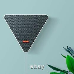 Wall Mounted Bluetooth Wireless TV Speaker Music Stereo Speaker Remote Control