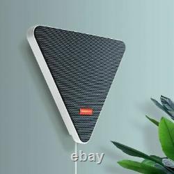 Wall Mounted Bluetooth Wireless TV Speaker RGB Flush Music Stereo Speaker Remote