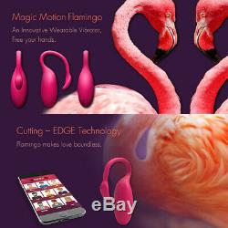 Wearable Bluetooth Wireless Phone APP Remote Control Vibration Panties Massager