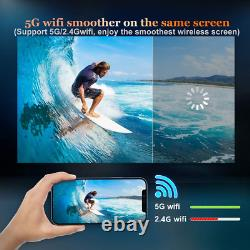 WiMiUS W1 WiFi Bluetooth Projector 8500L Full Native 1080P Smooth 5G Wireless