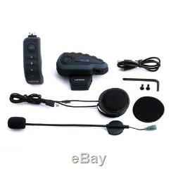Wireless Bike Helmet Headphone Intercom NFC Bluetooth Remote Control