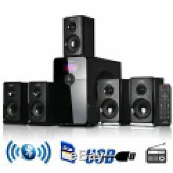 Wireless Bluetooth Speaker System Subwoofer Remote Control Surround Sound
