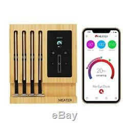 Wireless Meat Thermometer Bluetooth Wifi Meater Grill Oven Smoker Bbq Remote New
