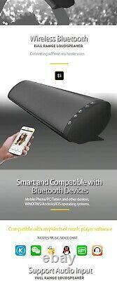 Wireless TV Soundbar Speaker 20W Plastic Remote Control Bluetooth Home Theater