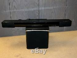 Yamaha YAS-203 Bluetooth Sound Bar with Wireless Subwoofer + Remote & Manuals