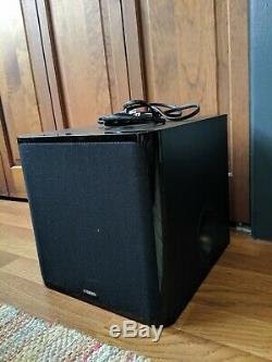 Yamaha yas-203 Bluetooth Sound Bar, Subwoofer, & Remote