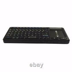 10x106bt Ultra Mini Clavier Sans Fil Bluetooth Anglais Présentateur Combo À Distance