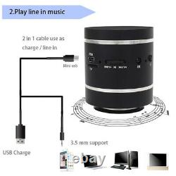 10xadin Bluetooth Vibration Speaker Télécommande Portable Fm Radio Wireless