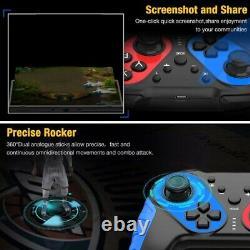 10xwireless Bluetooth Gamepad Gamepad Joypad Télécommande Pour Nintendo S S4l7