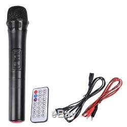 12 Haut-parleur Portable Actif Pa Carte Sd Sans Fil Bluetooth Usb Avec Micro Et Télécommande