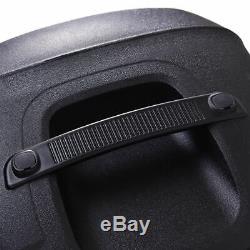 12 Haut-parleurs Portables Bluetooth 600w Dj Pa System 2 Microphones Sans Fil