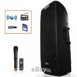 12 Pouces Bluetooth Portable Party Haut-parleurs Sans Fil À Distance Microphone