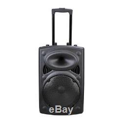 1500w Portable Bluetooth Speaker System 12 Pa Withremote Dj Haut-parleur Sans Fil MIC