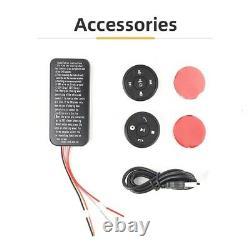 20x12v Sans Fil Universel Volant De Voiture 10 Bouton Bluetooth À Distance Co B4u7