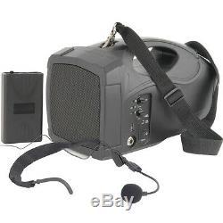 25w Musique Active De Microphone Sans Fil Mobile De Système De Haut-parleurs Extérieurs Portatifs De Pa