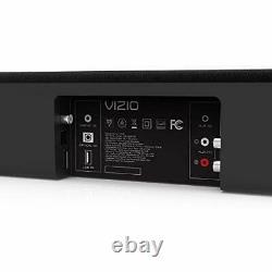 2.1 Channel Audio Sound Bar Wireless Subwoofer Bluetooth Home Theater Noir 38