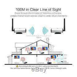 2.4g Transmetteur Av Audio / Vidéo Sans Fil Émetteur Et Récepteur Extendeur À Distance Ir
