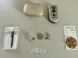 2 Auditives Numériques Aides Phonak Audéo Q50-312 Ric Sans Fil / Bluetooth + À Distance