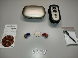 2 Auditives Numériques Aides Phonak Virto B90 Itc Sans Fil / Bluetooth Remote +