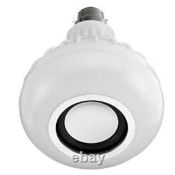 30xsmart Bluetooth Télécommande Sans Fil Musique Ampoule Led Ampoule B22 Intelligente Lumière
