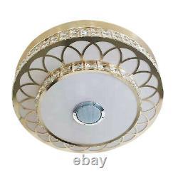 42 Lampe Pendentif Led Bluetooth Sans Fil De Ventilateur De Ventilateur Et Télécommande 8-25