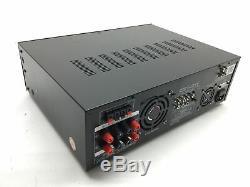 4 Canaux Amplificateur Bluetooth Sans Fil 3000 Watt Haut-parleur Stéréo Audio Rec