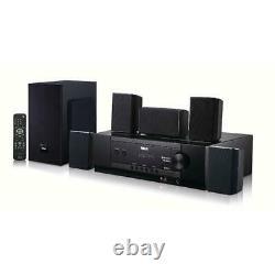 5.1 Bluetooth Home Theater Surround Sound Speaker System Télécommande Sans Fil