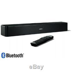 5 Bose Solo Tv Bluetooth Soundbar Haut-parleur Usine À Distance Renouvelé Garantie 1 An