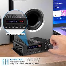 Amplificateur Audio Sans Fil Bluetooth À La Maison 100w 5 Channel Home Theater Power Ster