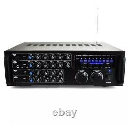 Amplificateur D'amplificateur De Karaoké Sans Fil Sans Fil Pyle 1000 Watt Bluetooth