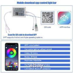 Atom Led Rgb Neon Flex 1821mm Wireless Bluetooth App 220v Ip67 Rgb Neon Flex