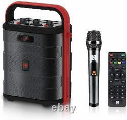 Audio Stadium 50-watt Bluetooth Sans Fil Haut-parleur Rechargeable Avec Contrôle De Distance