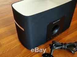 B & W Bowers & Wilkins Système D'enceintes Avec Musique En Streaming A7 Wifi Avec Télécommande