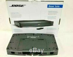 Bar Tv Bose Solo Son Système Filaire Noir Un Haut-parleur À Distance Boîte Ouverte De Contrôle