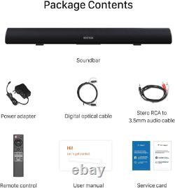 Barre De Son, 100watt Bestisan Barre De Son Pour Tv, Wireless Bluetooth 5.0 Soun