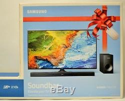 Barre De Son 2.1 Canaux Avec Son Surround 130w De Samsung Avec Caisson De Basses Sans Fil Et Télécommande
