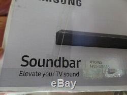 Barre De Son À 2,1 Canaux Samsung Hw-mm45 Avec Caisson De Basse Sans Fil Avec Télécommande 320w