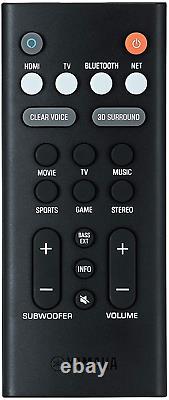 Barre De Son Avec Bluetooth Subwoofer Sans Fil Intégré Dans La Télécommande De Commande Vocale Alexa