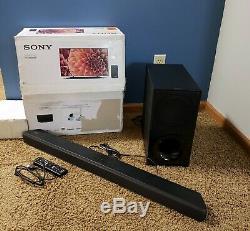 Barre De Son Dolby Atmos 2.1 Canaux Ht-x9000f De Sony Avec Télécommande Pour Subwoofer