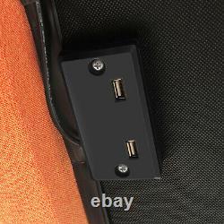 Base De Cadre De Lit Électrique Réglable Bluetooth Ports Usb À Distance Sans Fil Avec Led