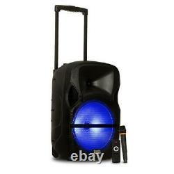 Batterie Alimentée Bluetooth Chargeur De Câble Led Haut-parleur Sans Fil MIC Remote Intérieur