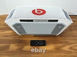 Beats Par Dr. Dre Beatbox Portable Wireless Bluetooth Speaker White Withremote