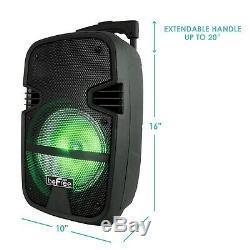Befree 8 400w Bluetooth Portable Dj Pa Tailgate Party Avec Haut-parleur MIC & A Distance