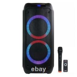 Befree Son Double 8 Haut-parleur Portable Avec Bluetooth Party Lumières Télécommande Sans Fil