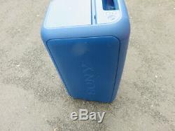 Bleu Sony Gtk-xb7 Bluetooth Président D'excellent État. Du Fil Et À Distance