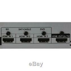 Bluetooth Home Theater System 1000w Sans Fil Audio Surround Sound Avec La Nouvelle Télécommande