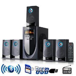Bluetooth Speaker System 5.1 Canaux Surround Sound Home Cinéma Télécommande