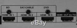 Bluetooth Système Home Cinéma 1000w Audio Surround Sound Avec Télécommande Nouveau